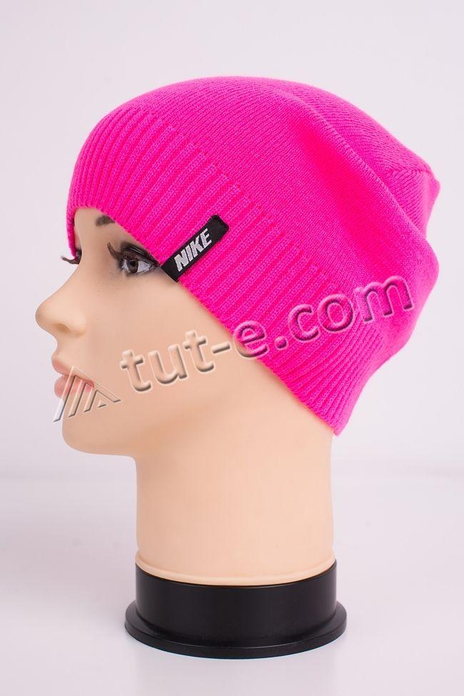 Шапка женская розовая Nike