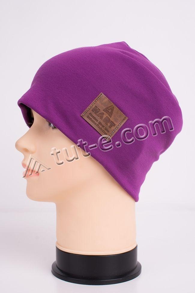 Шапка женская фиолетовая Hart