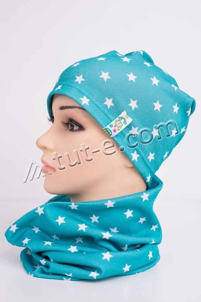 Комплект женский шарф-шапка